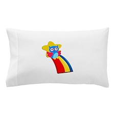 Rainbow Owl Pillow Case