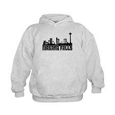 Niagara Falls Skyline Hoodie