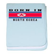 Born In North Korea baby blanket