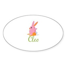 Easter Bunny Cleo Decal