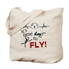 'Time To Fly' Tote Bag