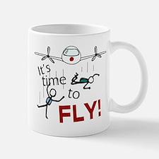 'Time To Fly' Mug