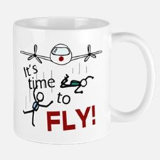 'Time To Fly' Small Small Mug