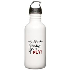 'Time To Fly' Water Bottle