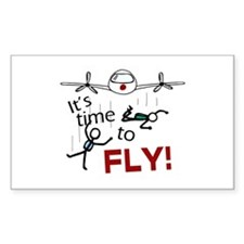 'Time To Fly' Decal