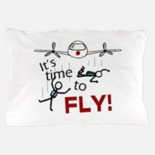 'Time To Fly' Pillow Case