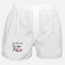 'Time To Fly' Boxer Shorts