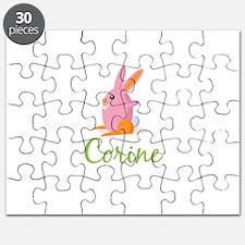 Easter Bunny Corine Puzzle