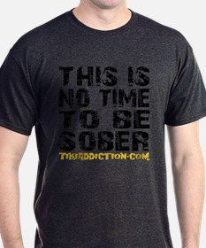 THIS IS NO TIME - WHITE T-Shirt