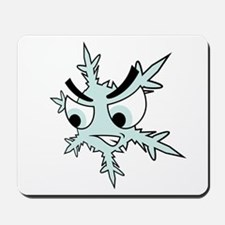 Angry Snowlfake Mousepad