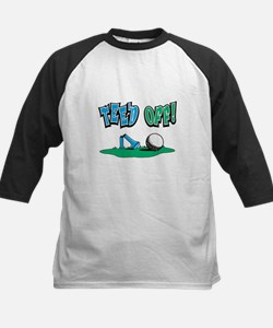 Tee'd Off Golf Design Kids Baseball Jersey