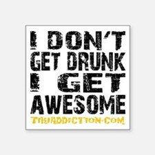 GET AWESOME - WHITE Sticker