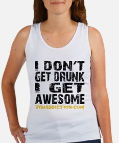 GET AWESOME - WHITE Tank Top