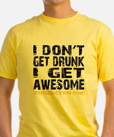 GET AWESOME - WHITE T-Shirt