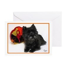 Cairn Terrier Turkey Greeting Cards (Pk of 10)