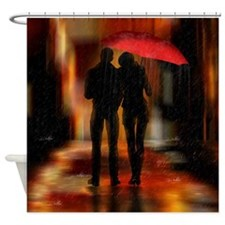 Downtown Art Shower Curtain