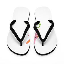Easter Bunny Eileen Flip Flops