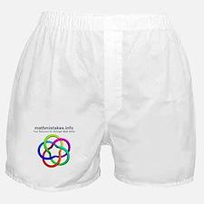 mathmistakes.info logo Boxer Shorts