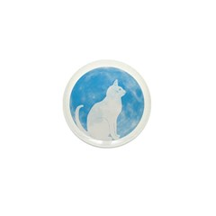 First Cat on the Moon! Mini Button (100 pack)