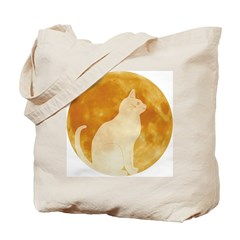 First Cat on the Moon! Tote Bag