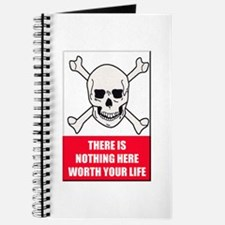 Nothing Here Worth Your Life Journal