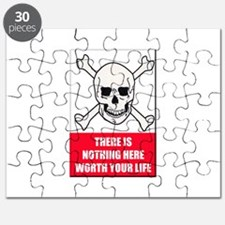 Nothing Here Worth Your Life Puzzle