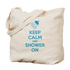 Keep Calm And Shower On Tote Bag