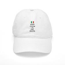 Keep Calm And Eat Pasta Baseball Cap