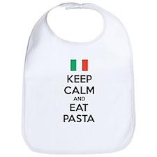Keep Calm And Eat Pasta Bib