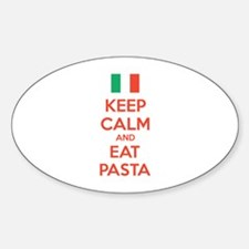 Keep Calm And Eat Pasta Decal