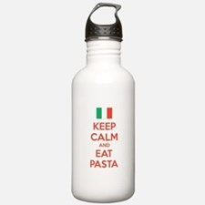Keep Calm And Eat Pasta Water Bottle