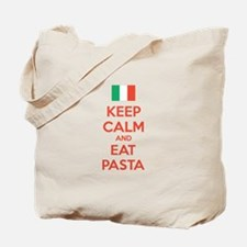 Keep Calm And Eat Pasta Tote Bag