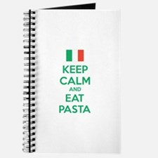 Keep Calm And Eat Pasta Journal