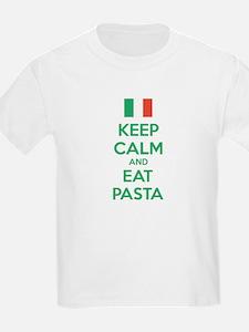 Keep Calm And Eat Pasta T-Shirt