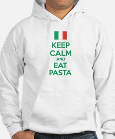 Keep Calm And Eat Pasta Hoodie