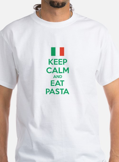 Keep Calm And Eat Pasta Shirt