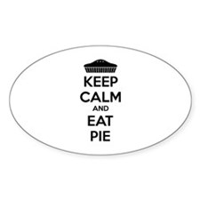 Keep Calm And Eat Pie Decal