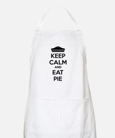 Keep Calm And Eat Pie Apron