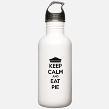 Keep Calm And Eat Pie Water Bottle