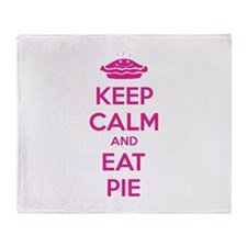 Keep Calm And Eat Pie Stadium Blanket