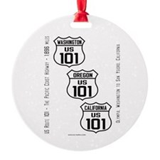 US Route 101 - All States Ornament