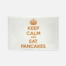 Keep Calm And Eat Pancakes Rectangle Magnet