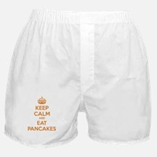 Keep Calm And Eat Pancakes Boxer Shorts