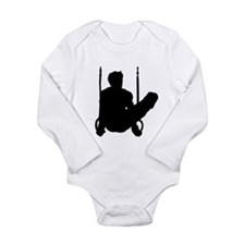 GYMNAST CHAMP Long Sleeve Infant Bodysuit