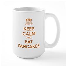 Keep Calm And Eat Pancakes Mug