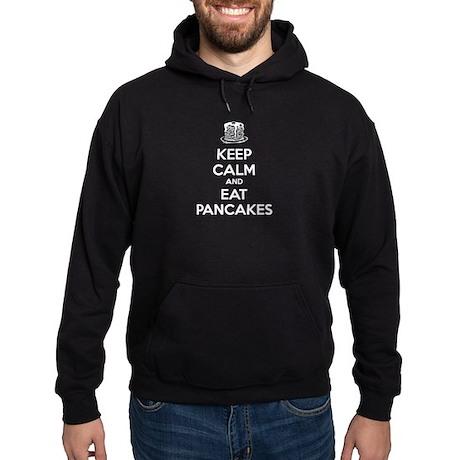 Keep Calm And Eat Pancakes Hoodie (dark)
