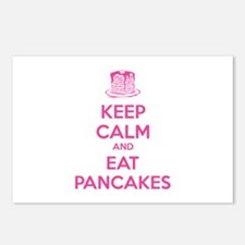 Keep Calm And Eat Pancakes Postcards (Package of 8