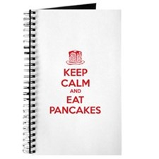 Keep Calm And Eat Pancakes Journal