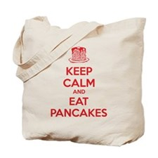 Keep Calm And Eat Pancakes Tote Bag