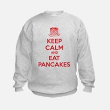 Keep Calm And Eat Pancakes Sweatshirt